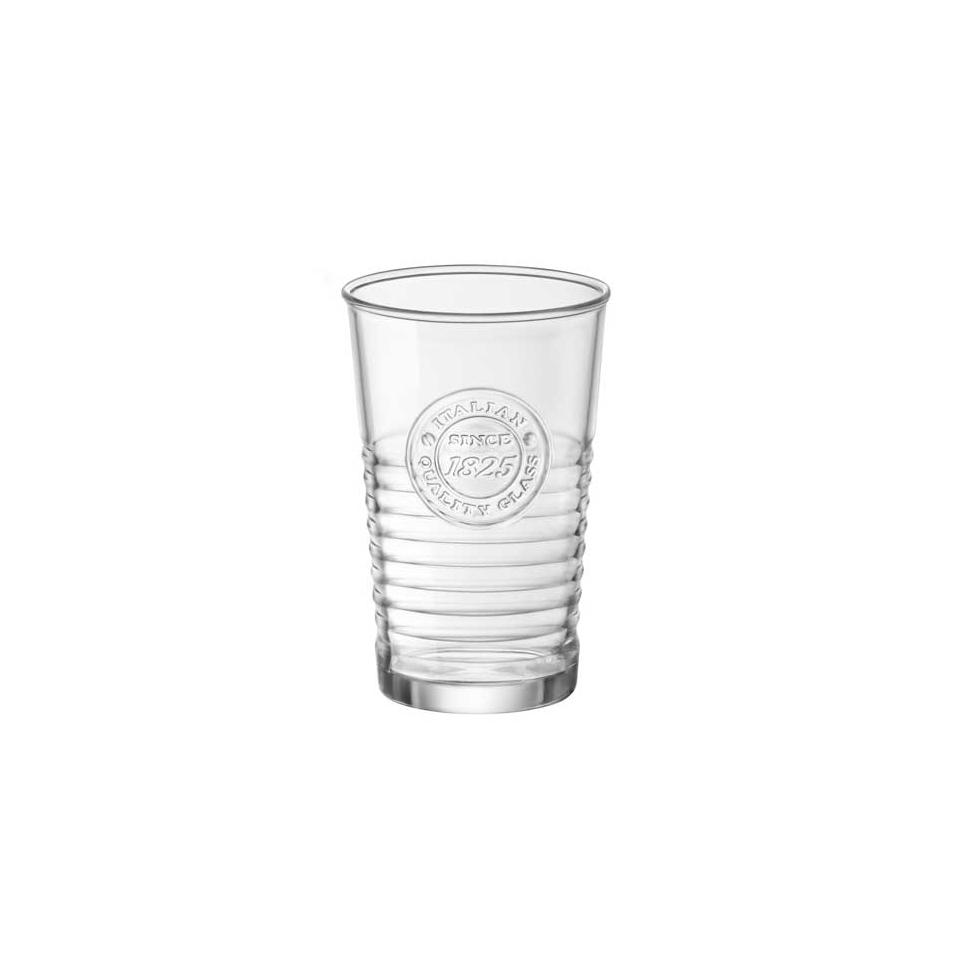 Bicchiere Officina Rocco Bormioli in vetro cl 32,5
