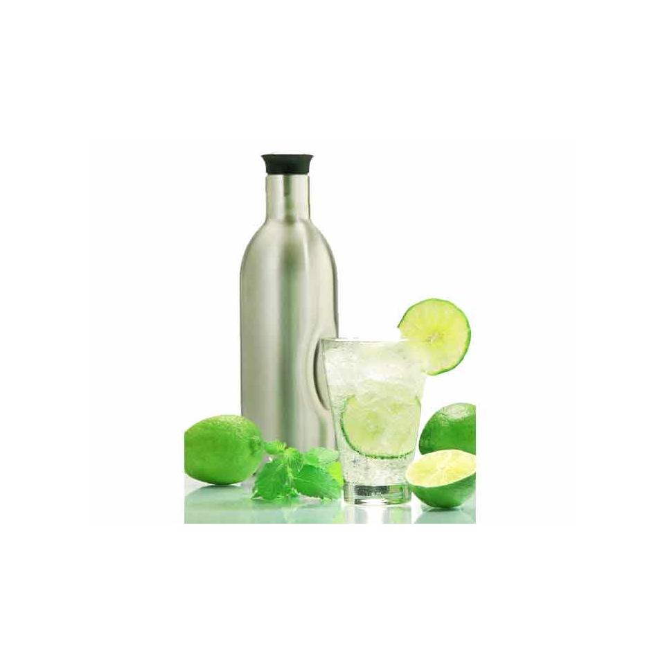 Bottiglia soda Splash in acciaio inox lt 1,2