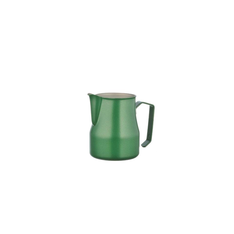 Lattiera Motta in acciaio inox verde cl 35