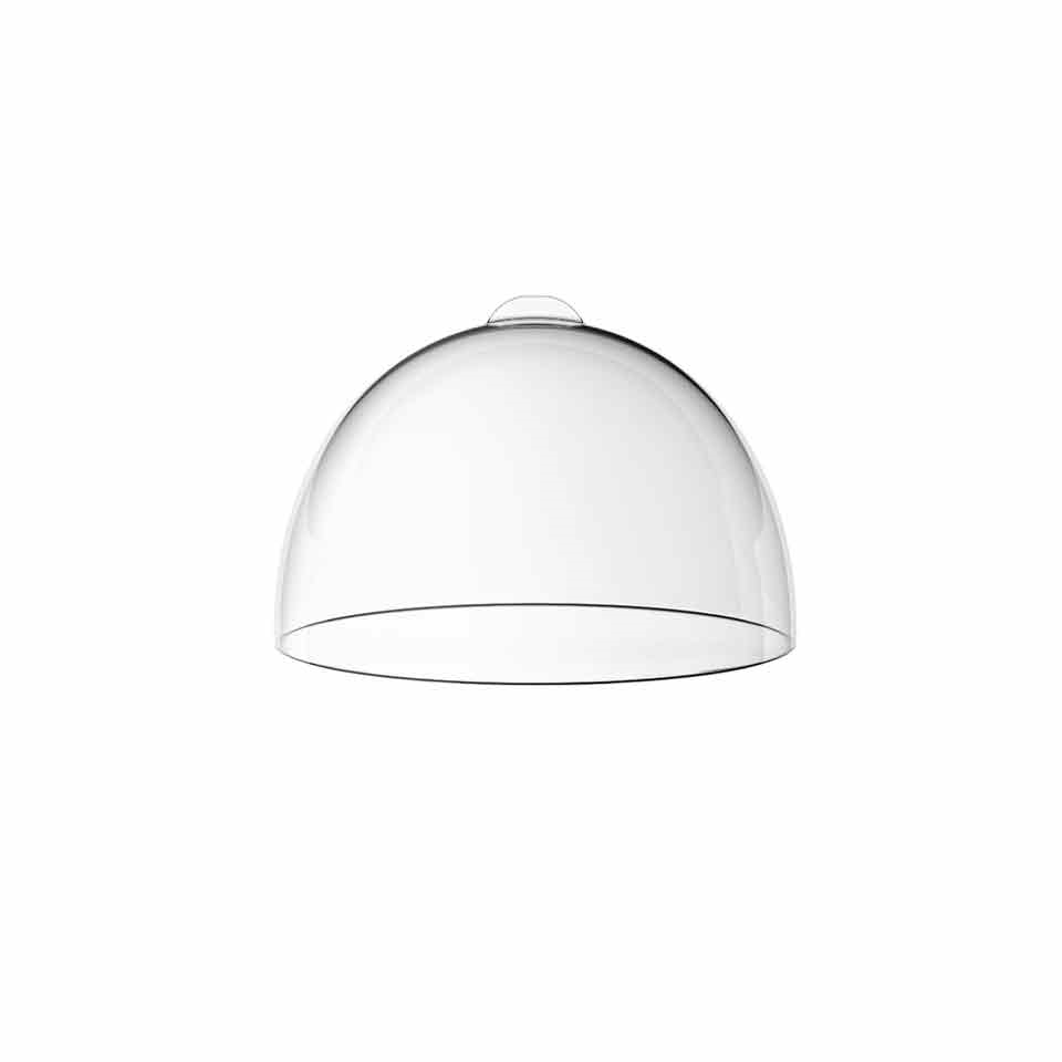 Cupola Bolle in SAN trasparente cm 27