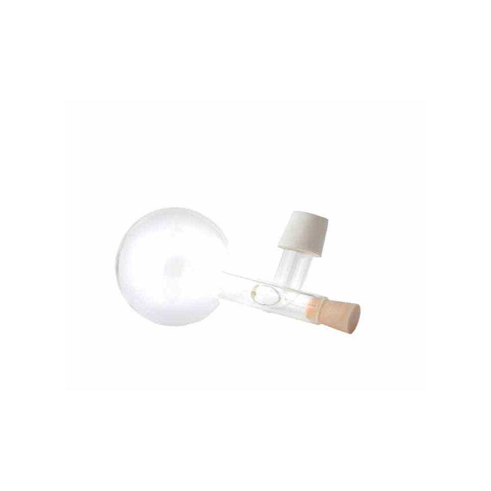 Tappo dosatore sfera centellino vino in vetro cl 16