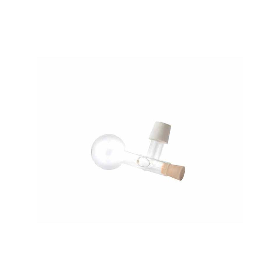 Tappo dosatore sfera centellino vino in vetro cl 2,5