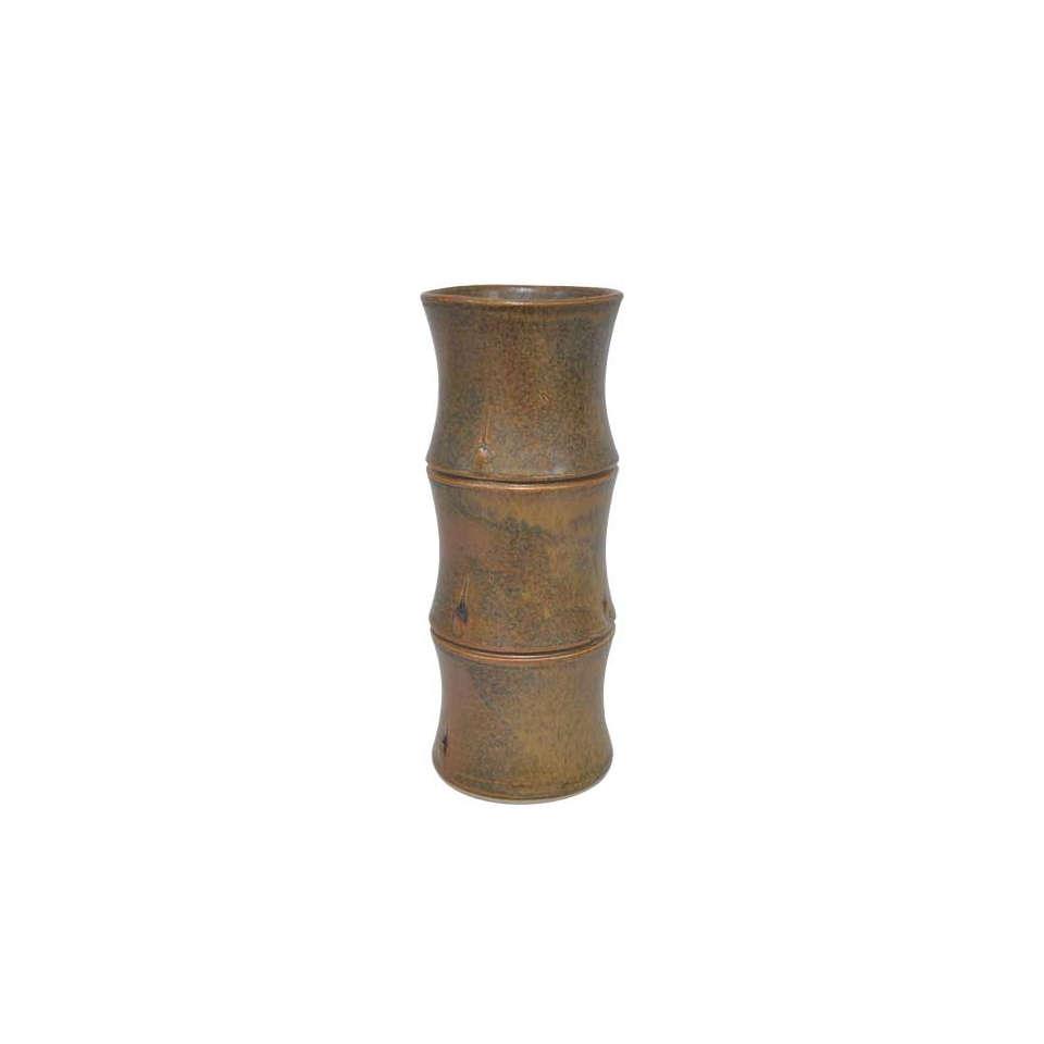 Tiki Mug Hakah-Bamboo in ceramica marrone cl 45