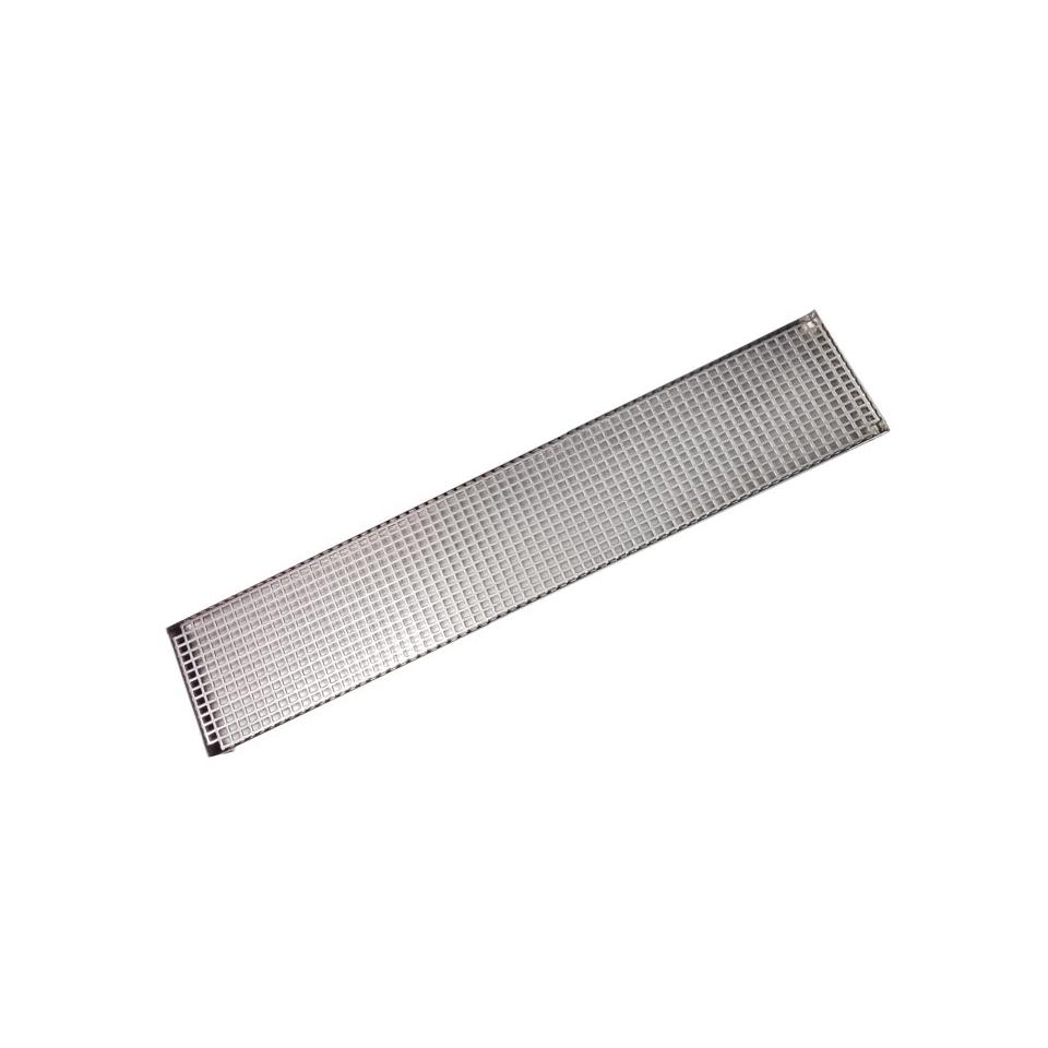 Bar mat con griglia in acciaio inox cm 47