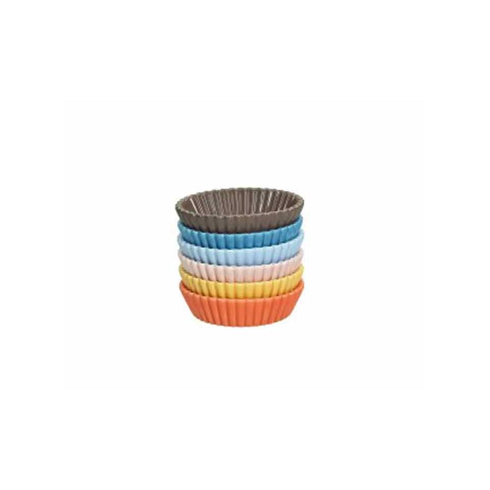 Cup cake Medium in porcellana colori assortiti cm 8x5