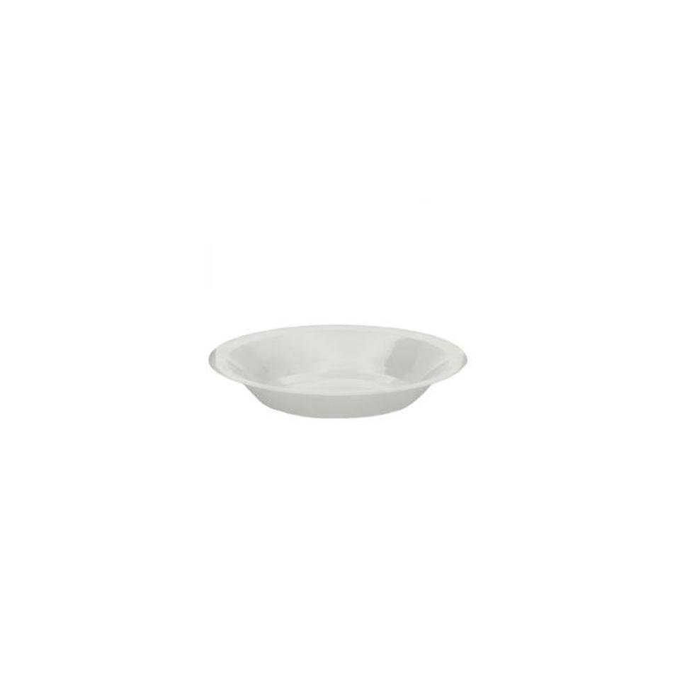 Piattino dessert Round Gold Plast in polipropilene cm 18,5