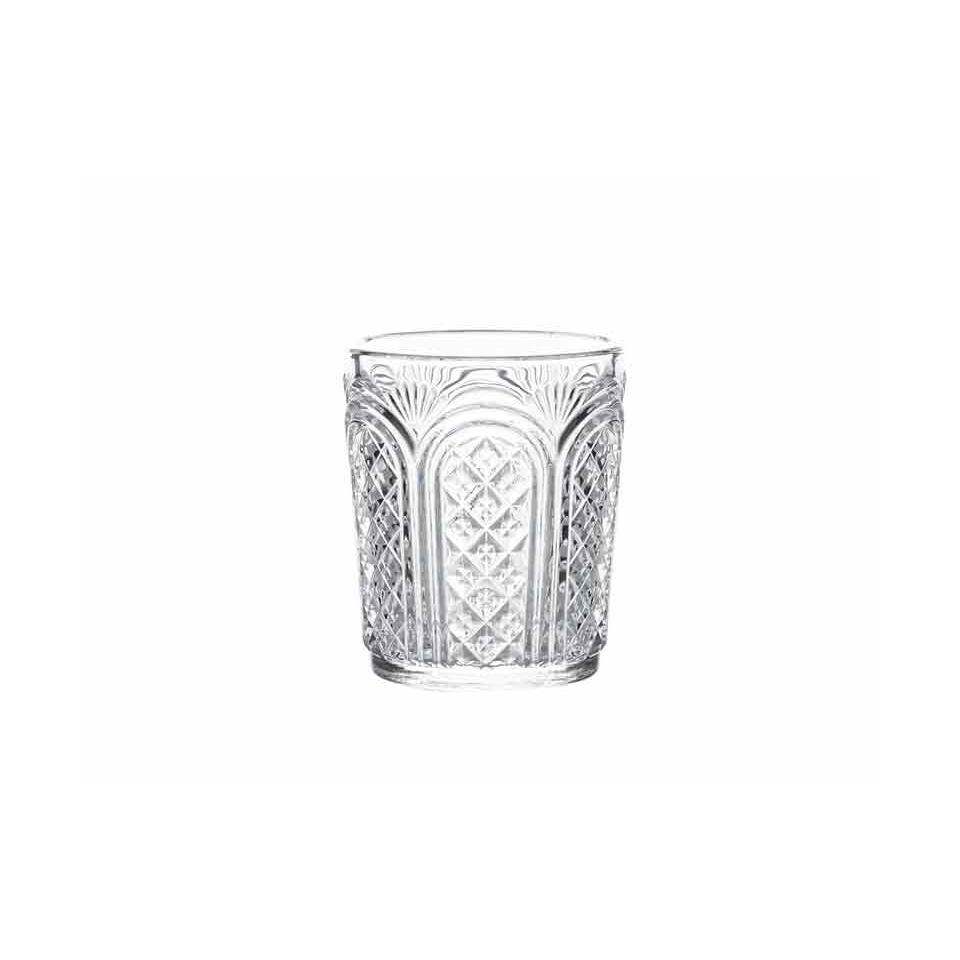 Bicchiere Astor vintage in vetro cl 34