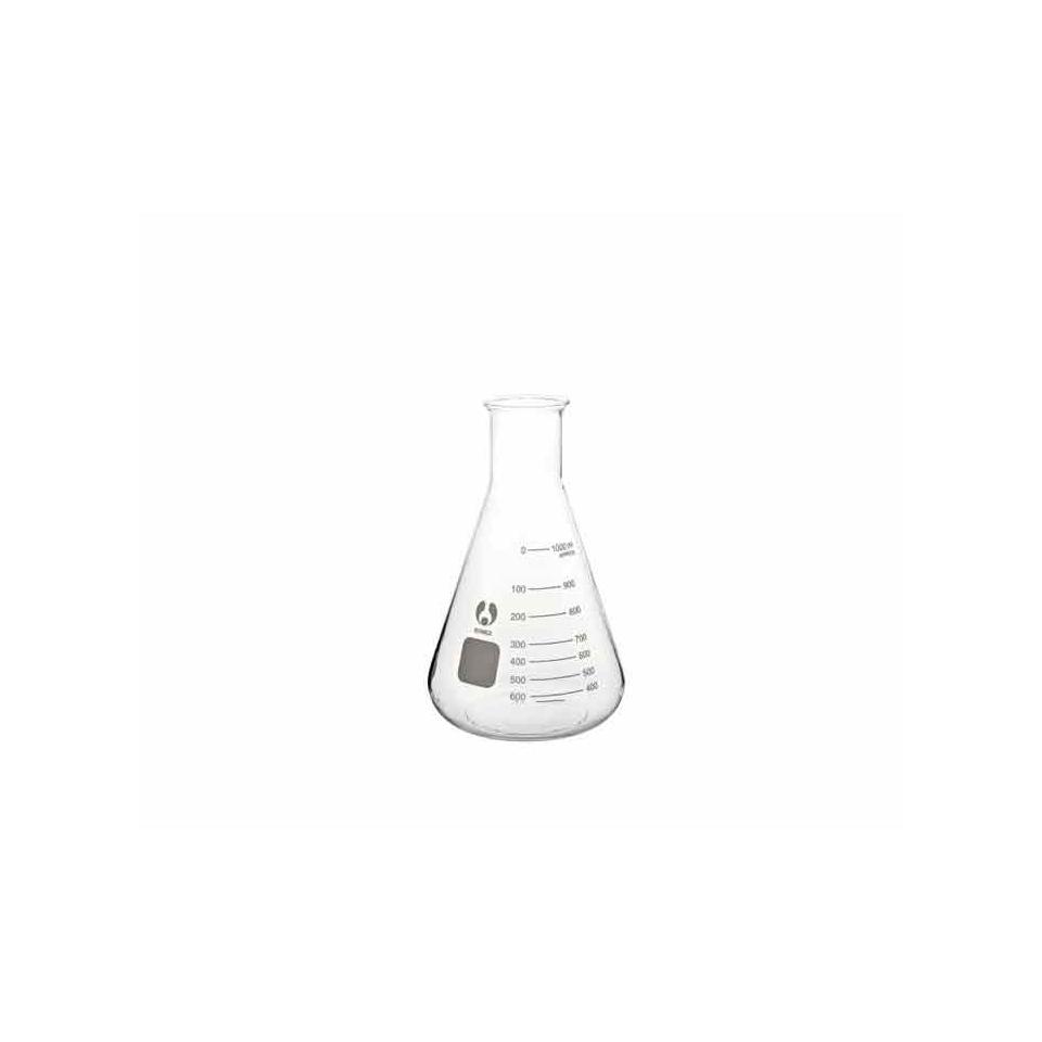 Ampolla Conica Graduata In Vetro Cl 15