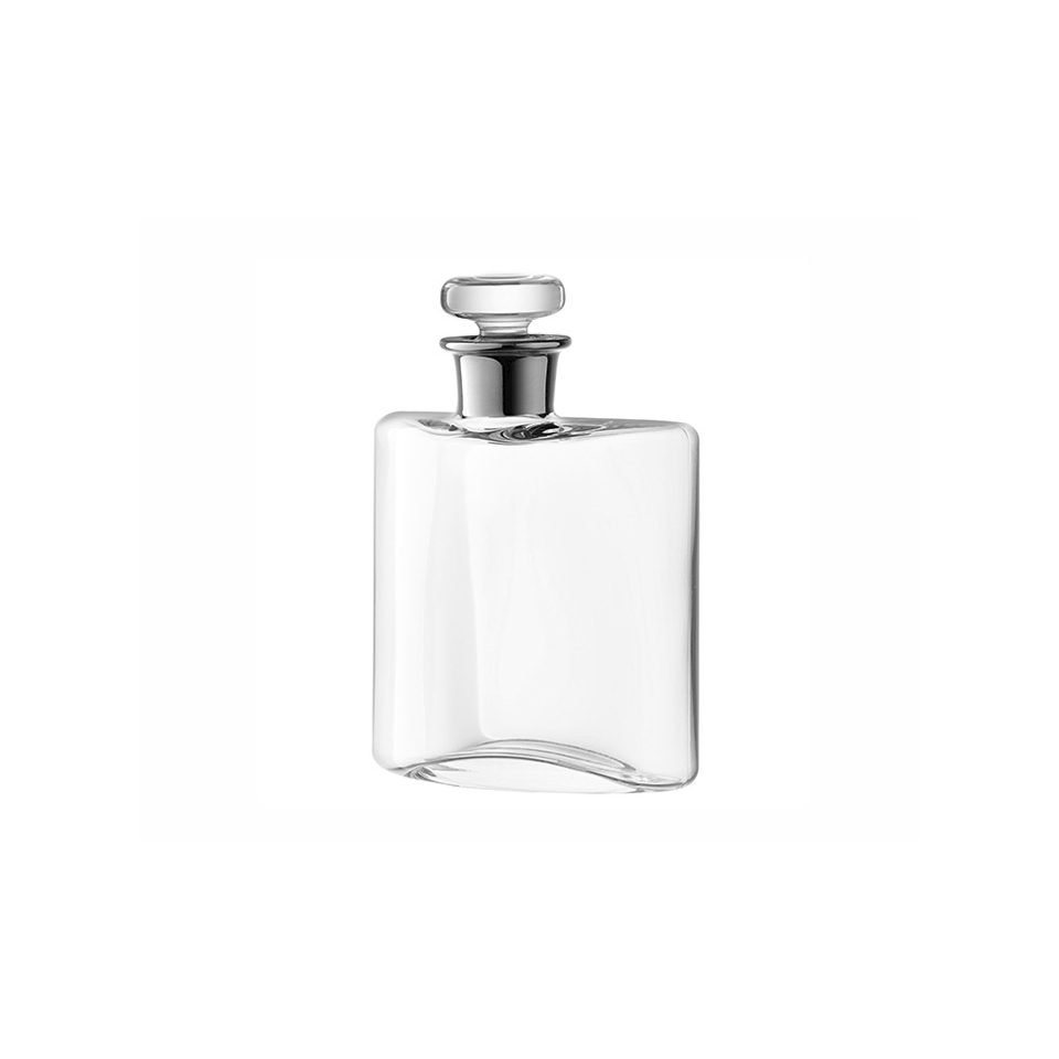 Bottiglia Flask in vetro trasparente cl 35
