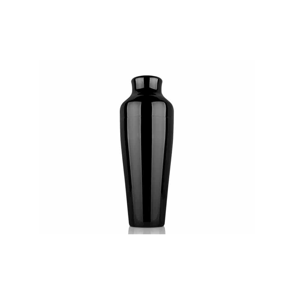 Shaker Parisienne Black in acciaio inox nero cl 55