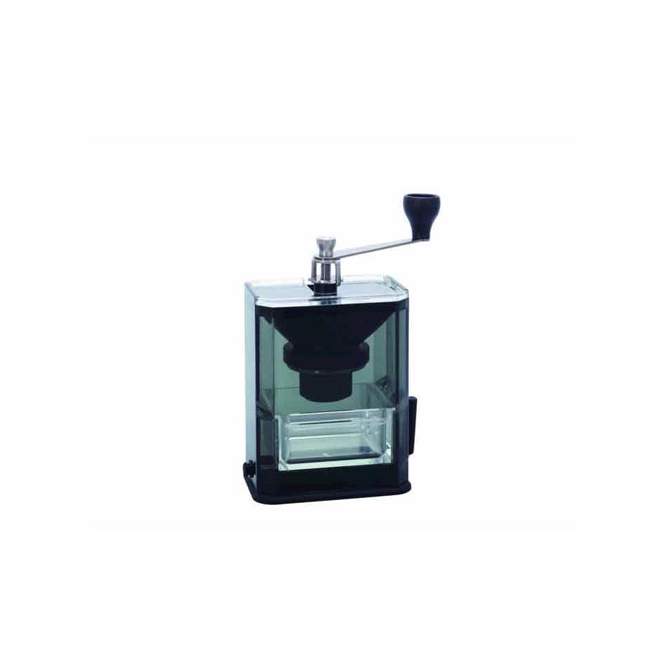 Macinacaffè Clear Grinder Hario in acciaio inox e plastica