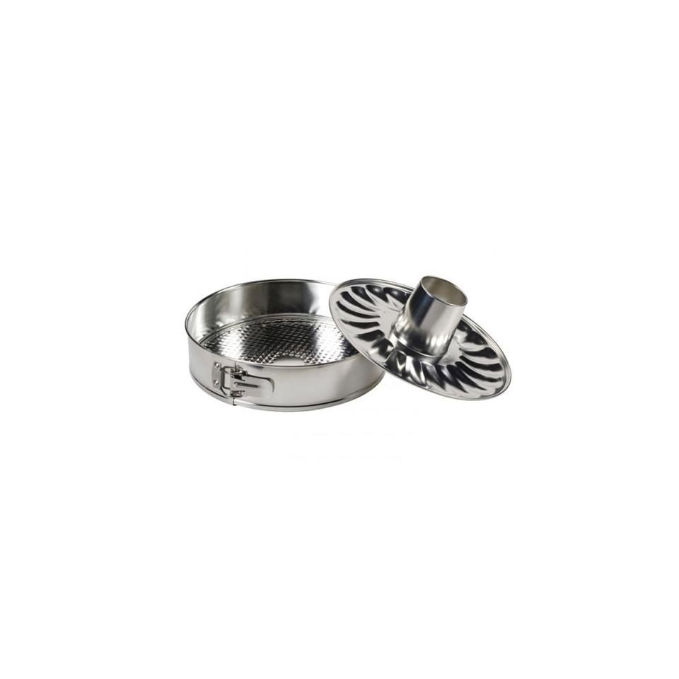 Tortiera apribile Selenia a 2 fondi in alluminio cm 26