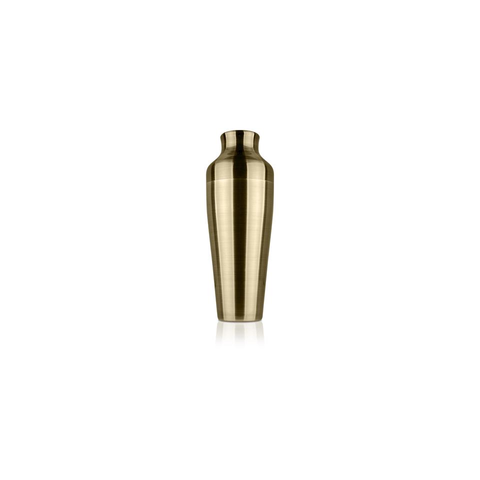 Shaker parisienne in acciaio inox bronzo cl 55