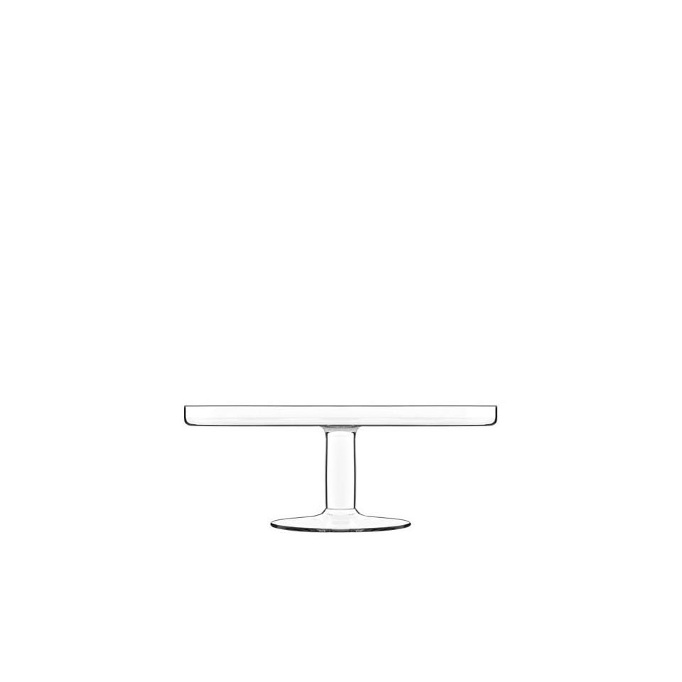 Alzata per torta Sublime Luigi Bormioli in vetro cm 29x11,5