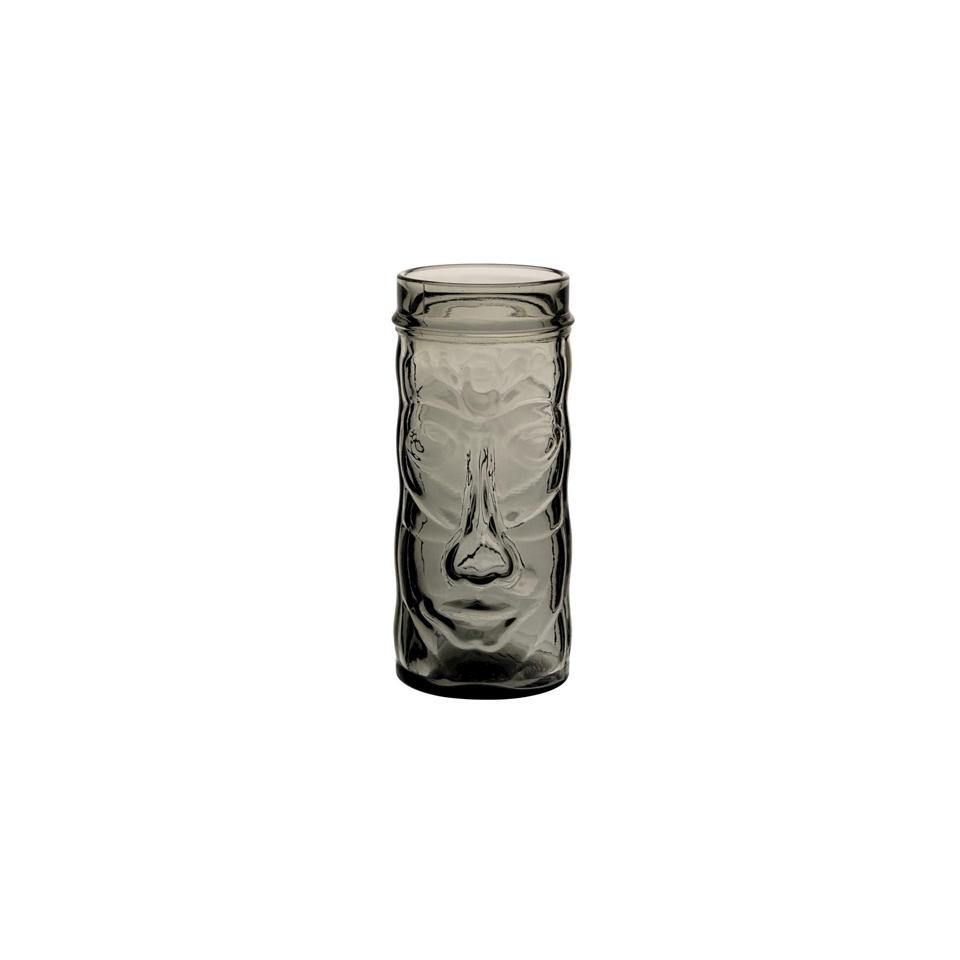 Tiki mug Tahiti in vetro smoke cl 45