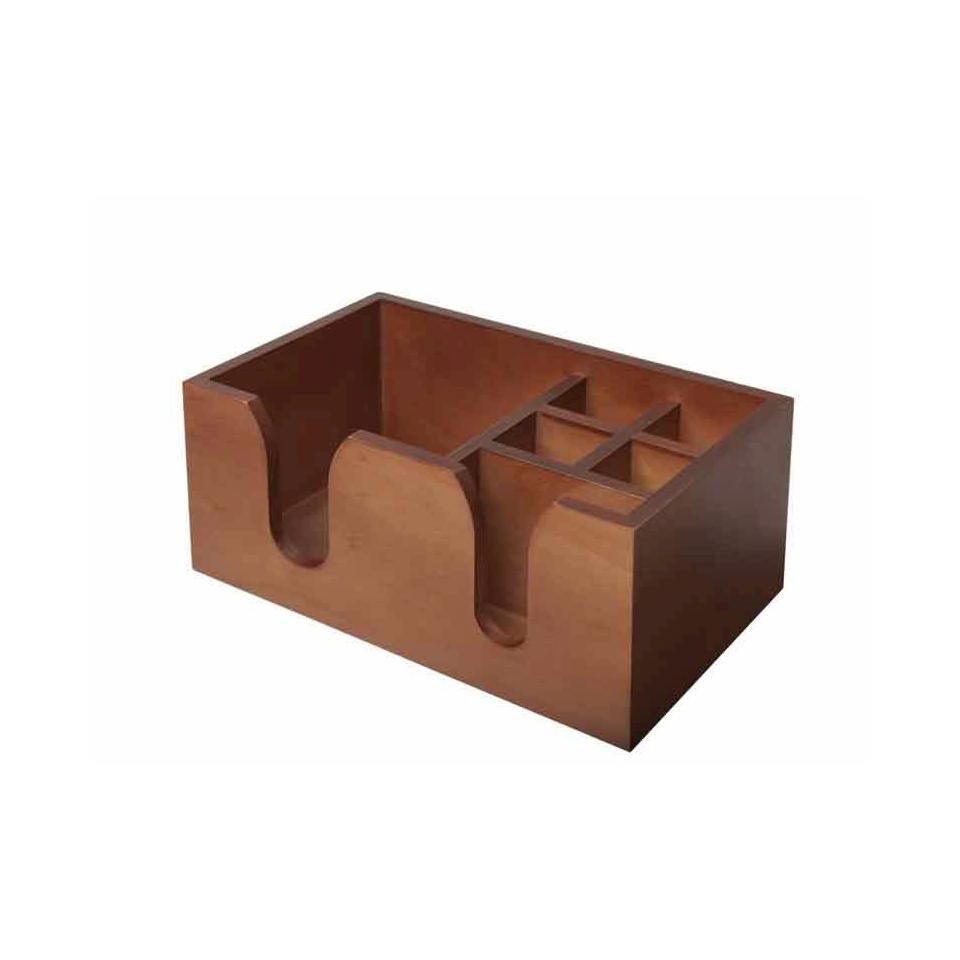 Bar Caddy in legno cm 26x15,5x11