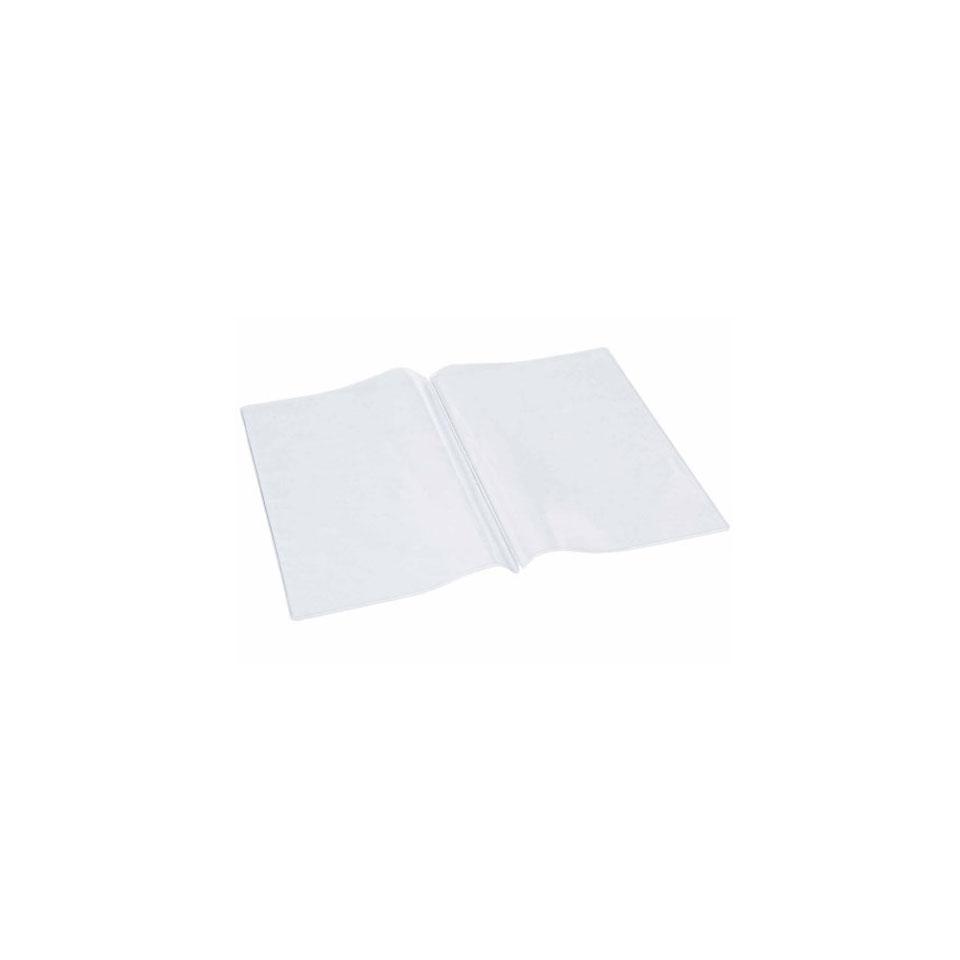 Busta per fogli menù A5 in plastica trasparente