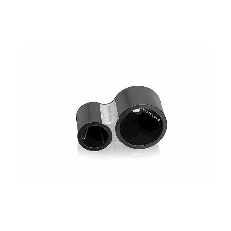 Temperino a spirale Microplane in acciaio inox cm 13x7,5