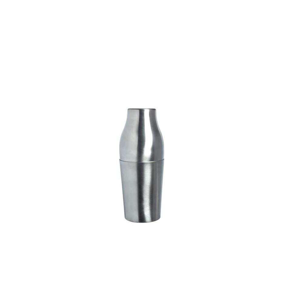 Shaker Parisienne 2 pezzi in acciaio inox satinato cl 25