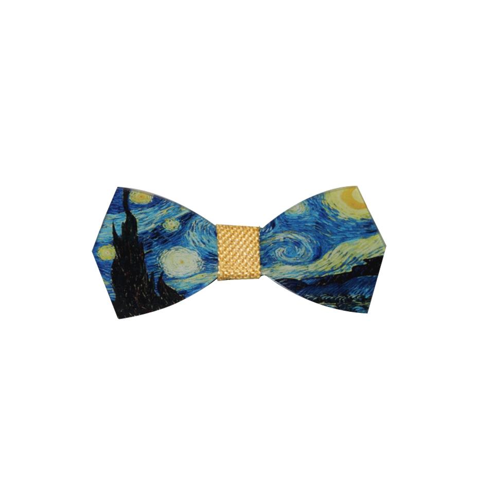 Papillon Van Gogh in plexiglass
