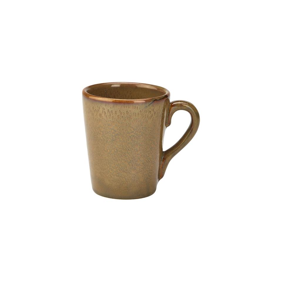 Tazza Terra in porcellana Stoneware marrone cl 32