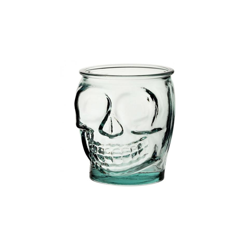 Bicchiere teschio in vetro cl 47