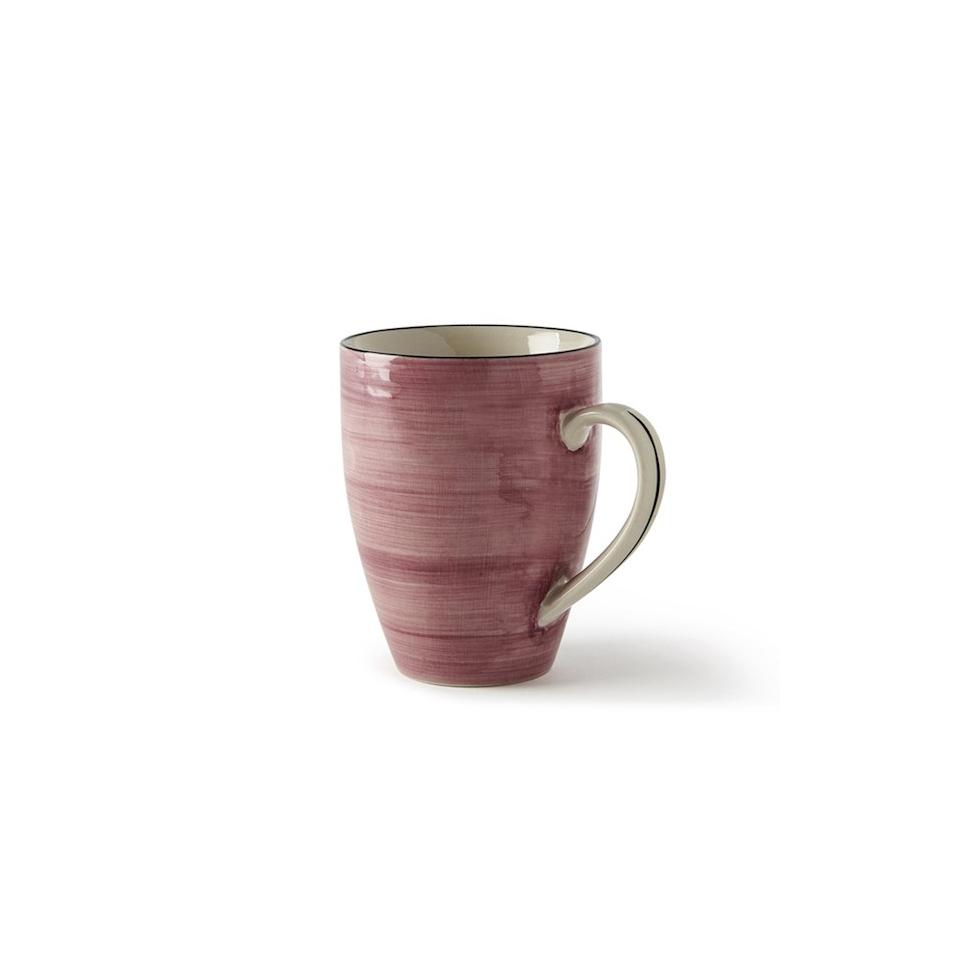 Tazza Althea in porcellana rosa antico cl 36