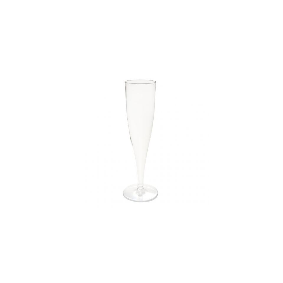 Flute Cava in plastica trasparente cl 12,5
