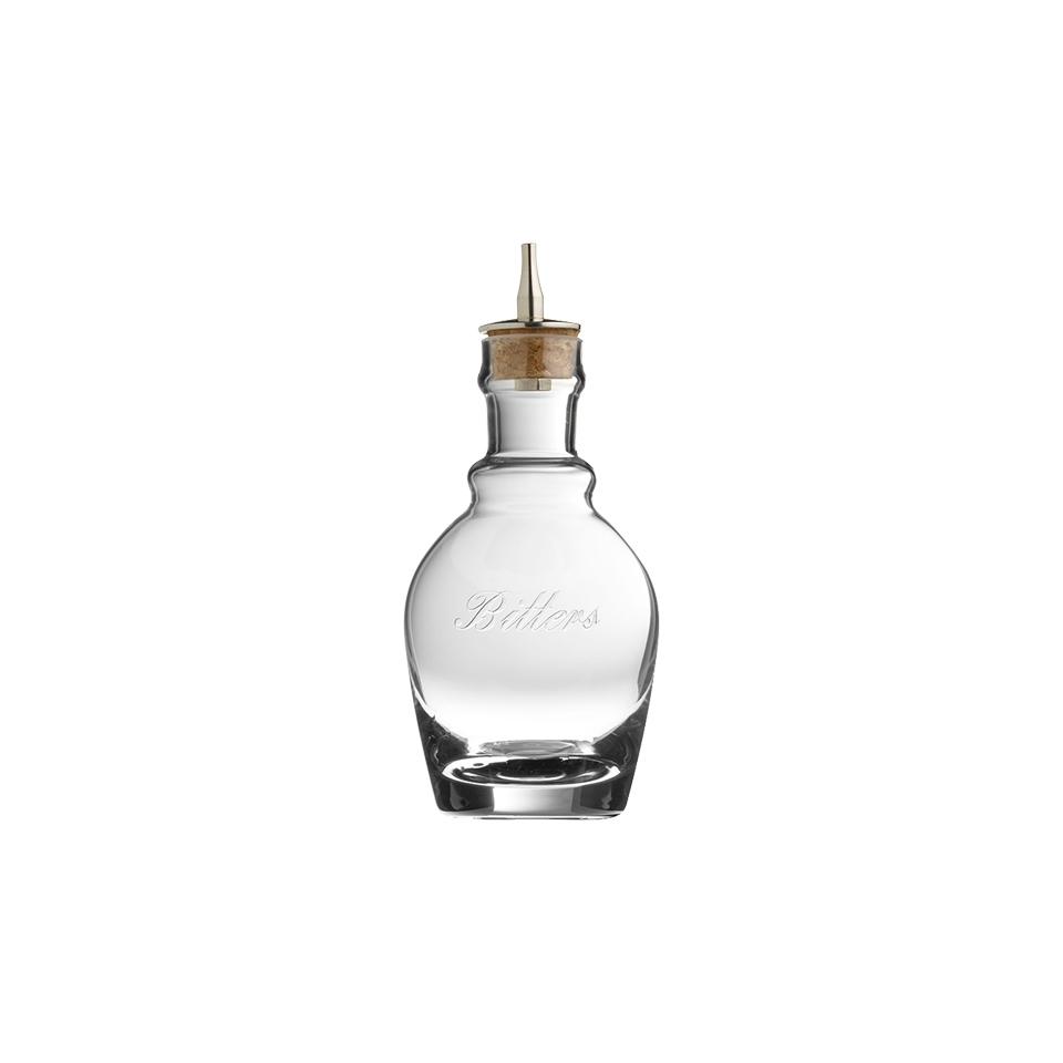 Bottiglia angostura Georgian con tappo in vetro cl 22