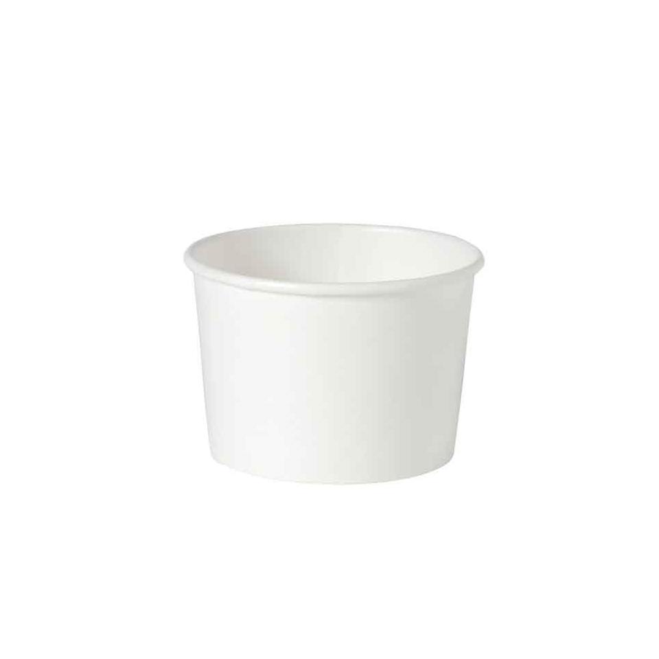 Ciotola minestra monouso Duni in cartone bianco cl 25