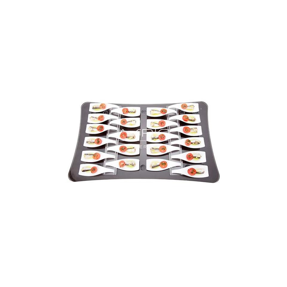 Vassoio Gastro 100% Chef in plexiglass cm 53x32,5