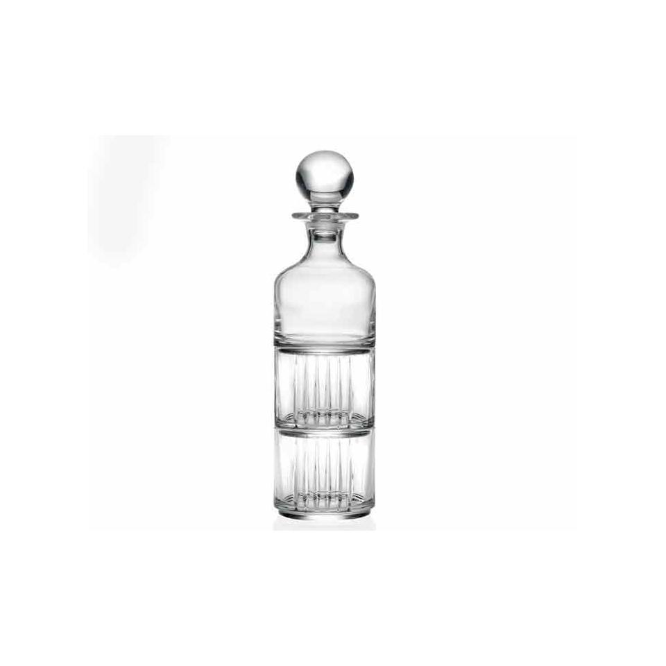 Set Combo RCR bottiglia con due bicchieri in vetro