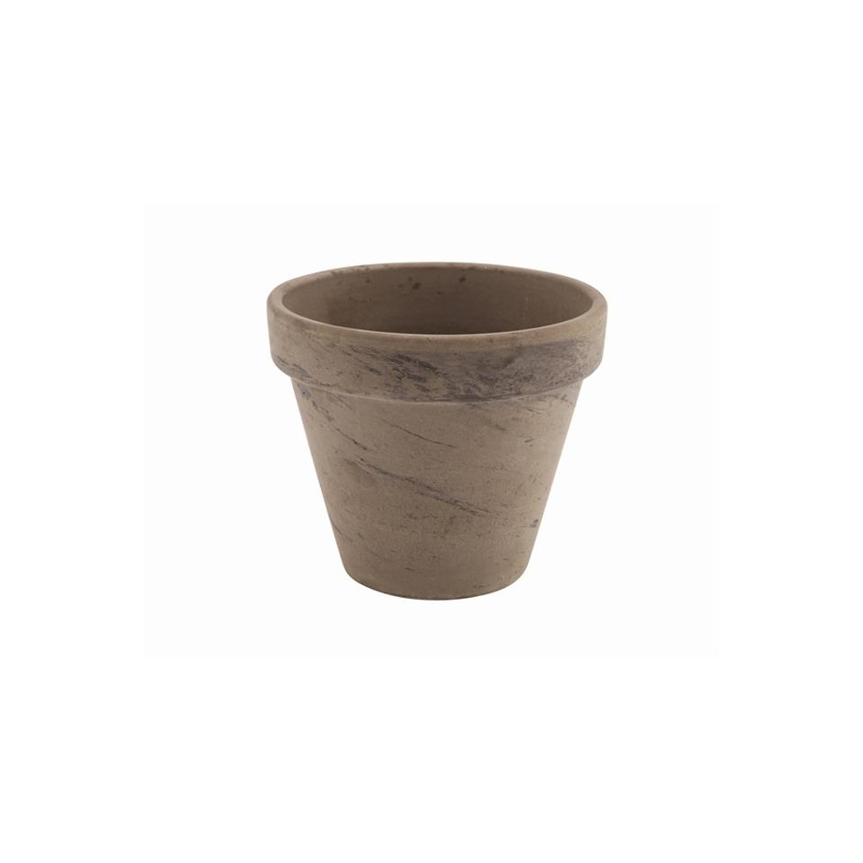 Vasetto Basalt in terracotta cm 11,2x9,7