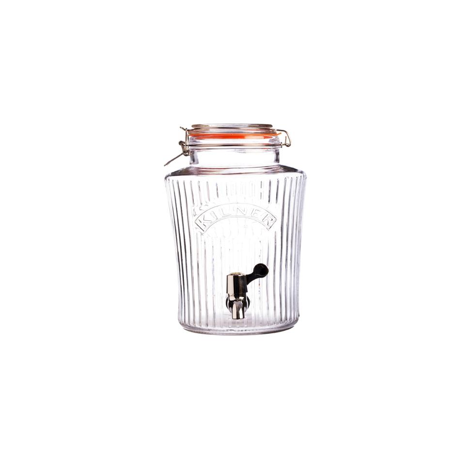 Vaso ermetico drink vintage Kilner in vetro lt 8
