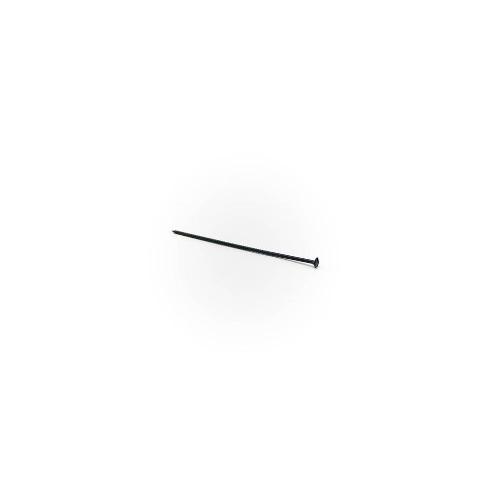 Stecchini a vite in plastica nera cm 8