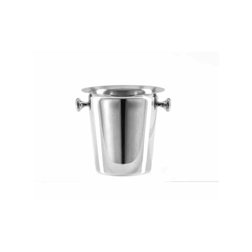 Secchiello ghiaccio Elegance in acciaio inox cm 20x20