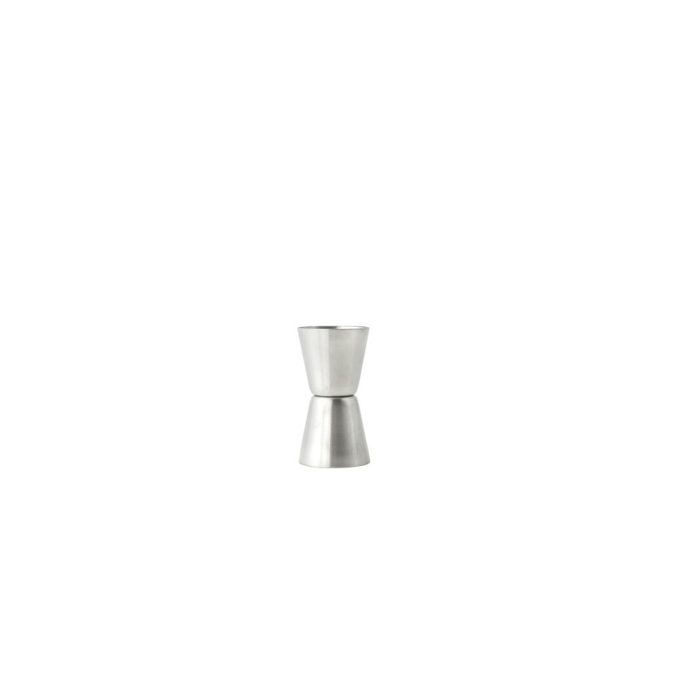 Mini Jigger in acciaio inox satinato cl 1,5