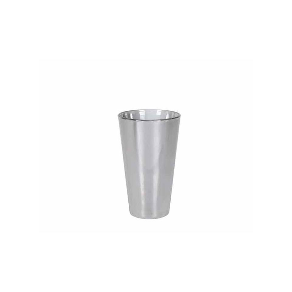 Bicchiere Cavana Platinum in vetro cromato cl 41,4