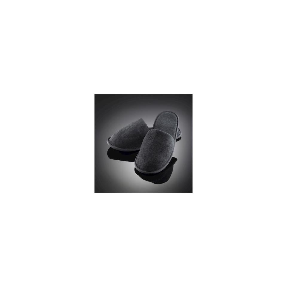 Ciabatte in spugna con suola in gomma nere taglia unica