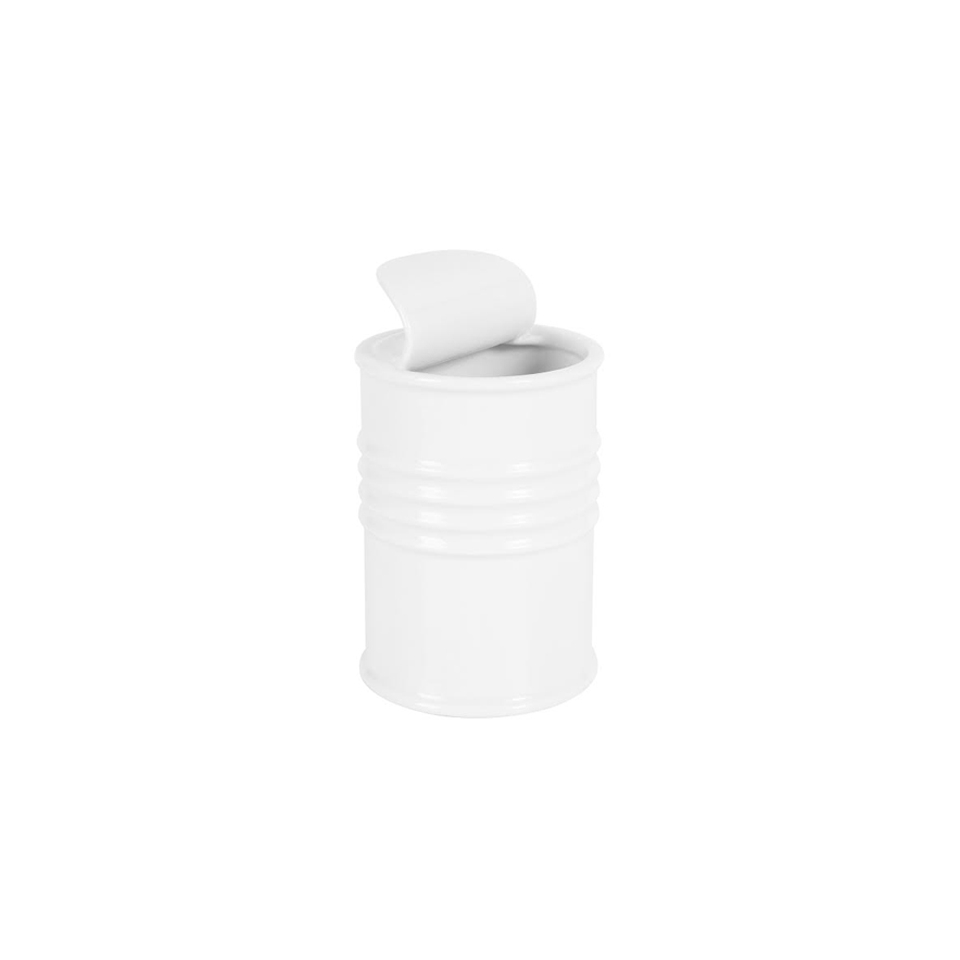 Scatoletta pelati in porcellana bianca cl 55