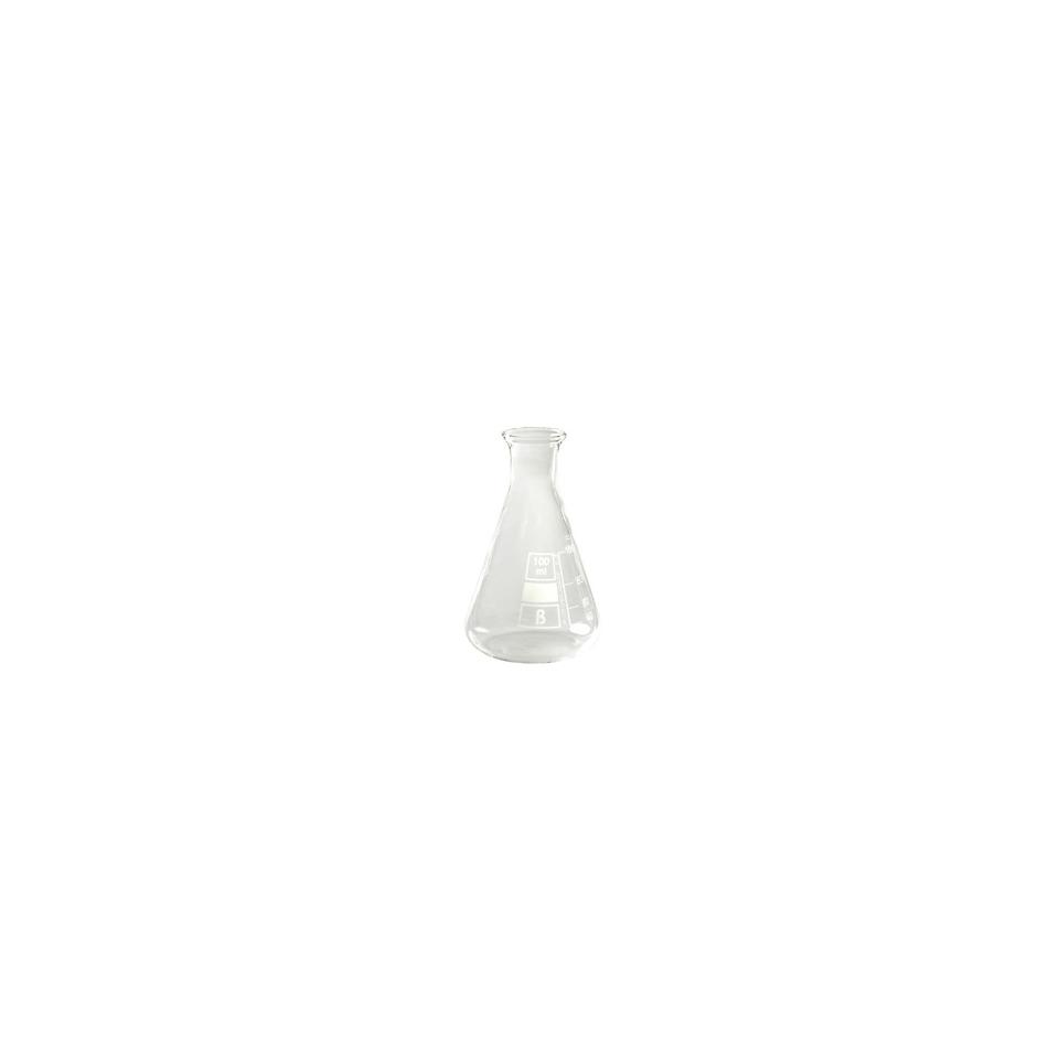 Ampolla conica graduata in vetro