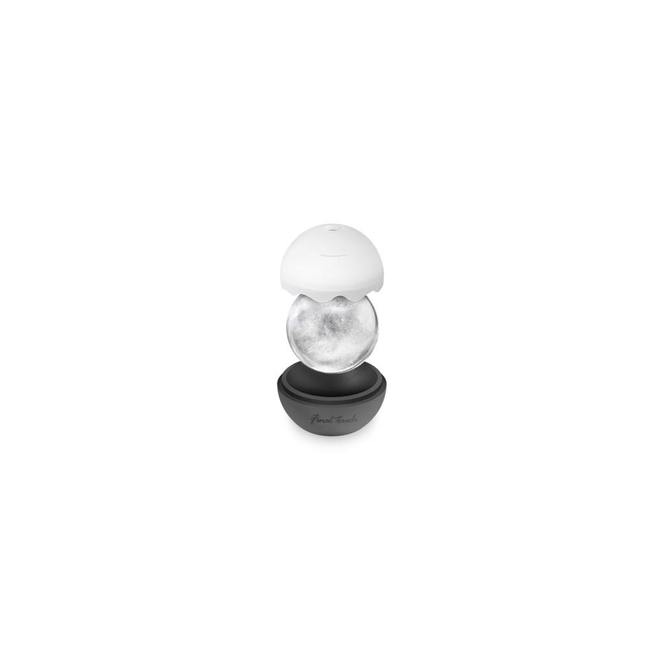 Stampi ghiaccio a sfera in silicone nero cm 6