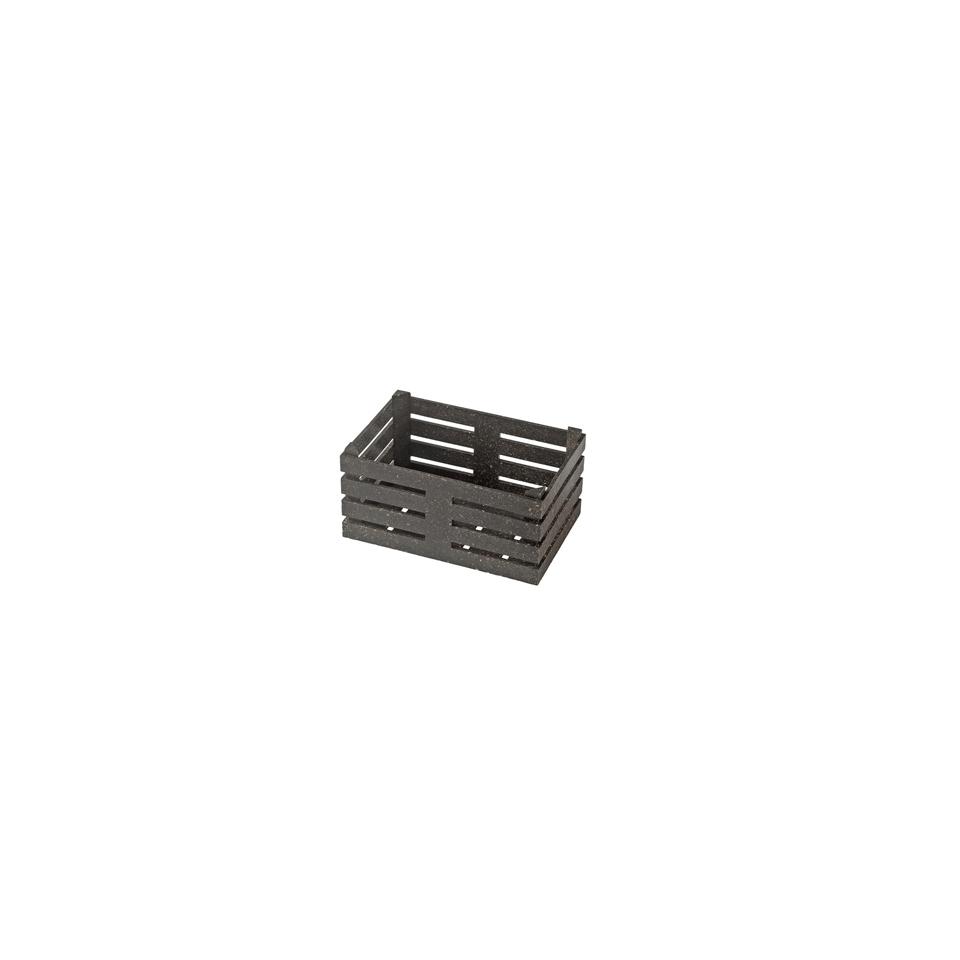 Cassetta in fibra di legno cm 11x7x5