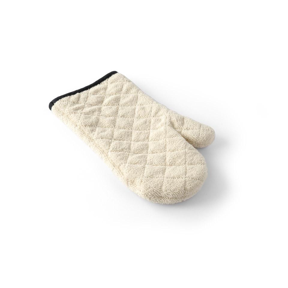 Guanto da forno Hendi in cotone beige