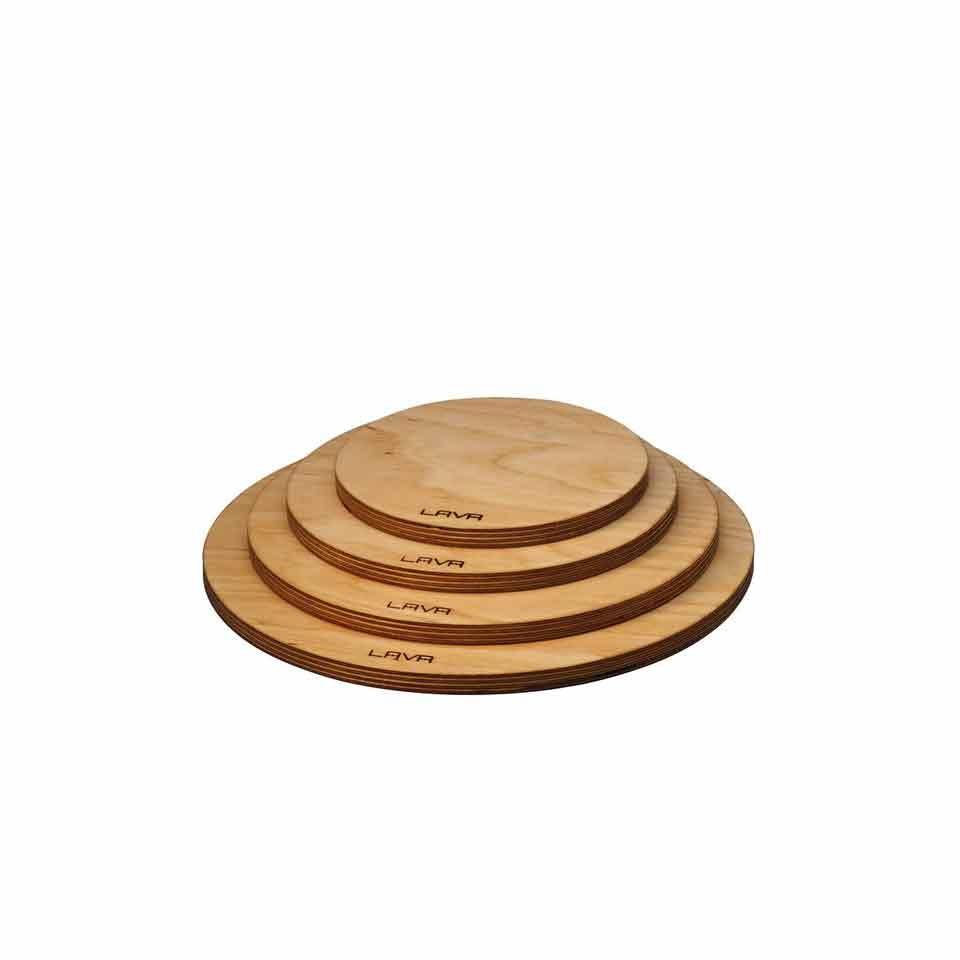 Sottopentola tondo con magnete in legno cm 18