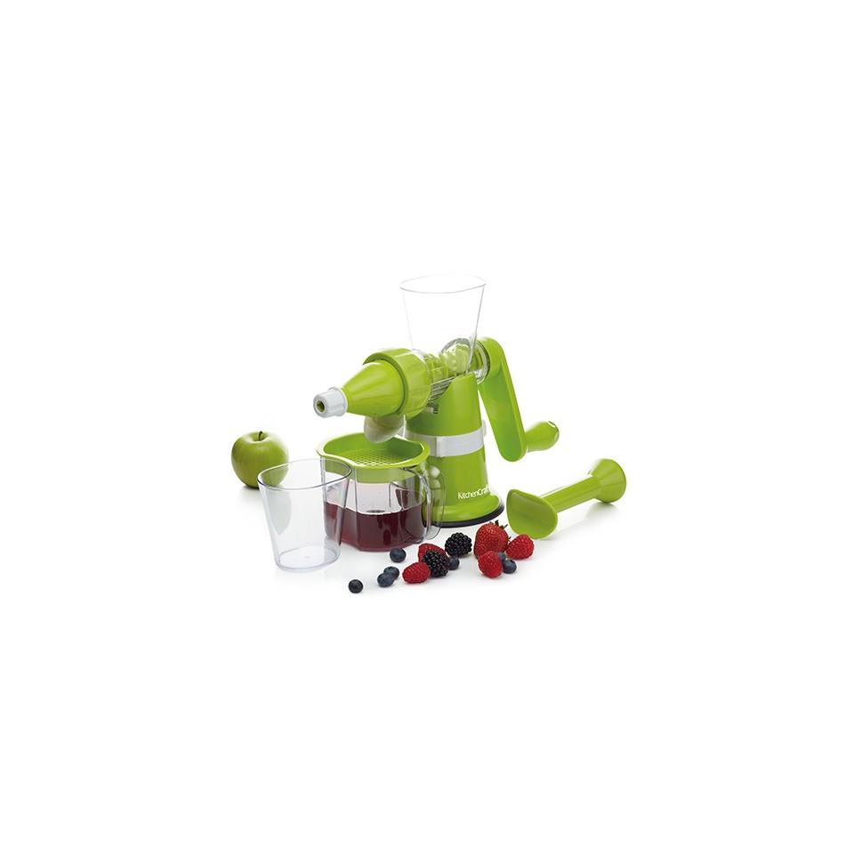 Estrattore manuale in plastica verde con base a ventosa