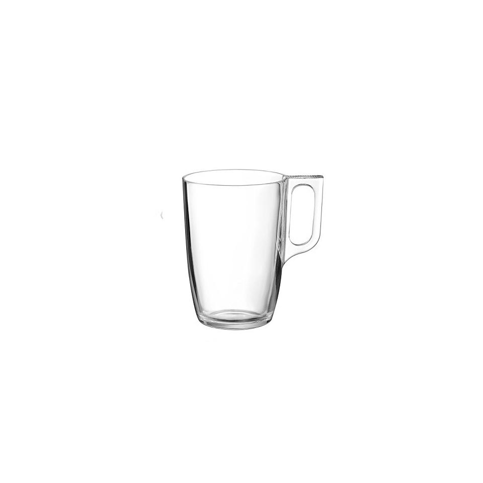 Tazza Mug Voluto in vetro cl 32