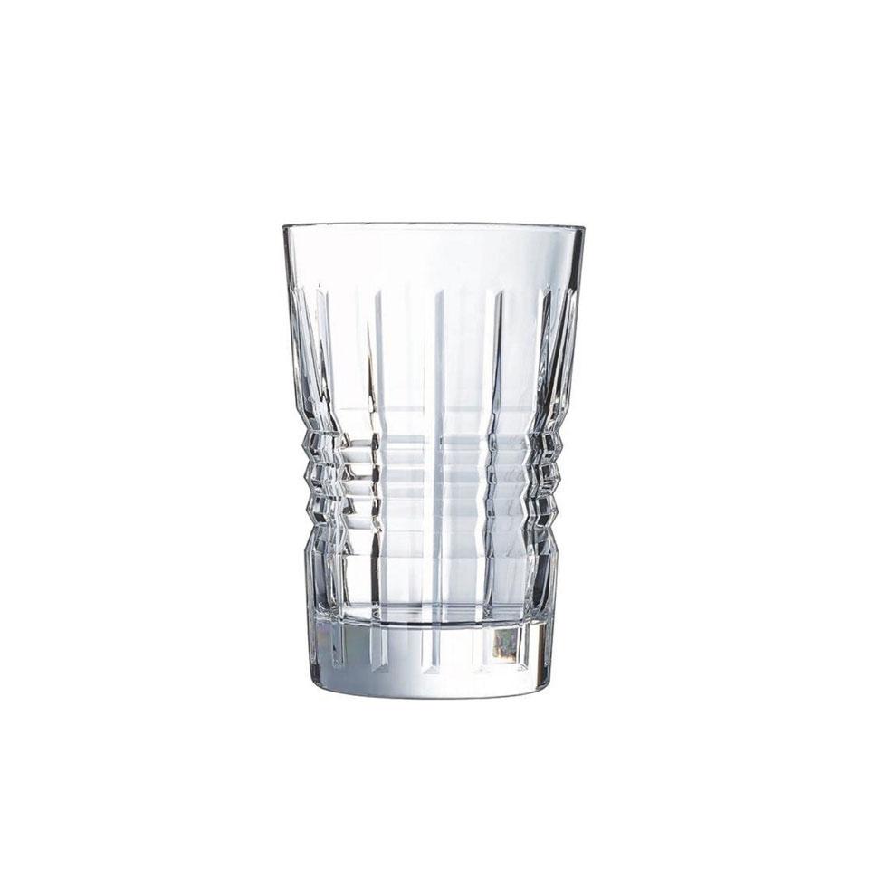 Bicchiere Architecte in vetro decorato cl 36