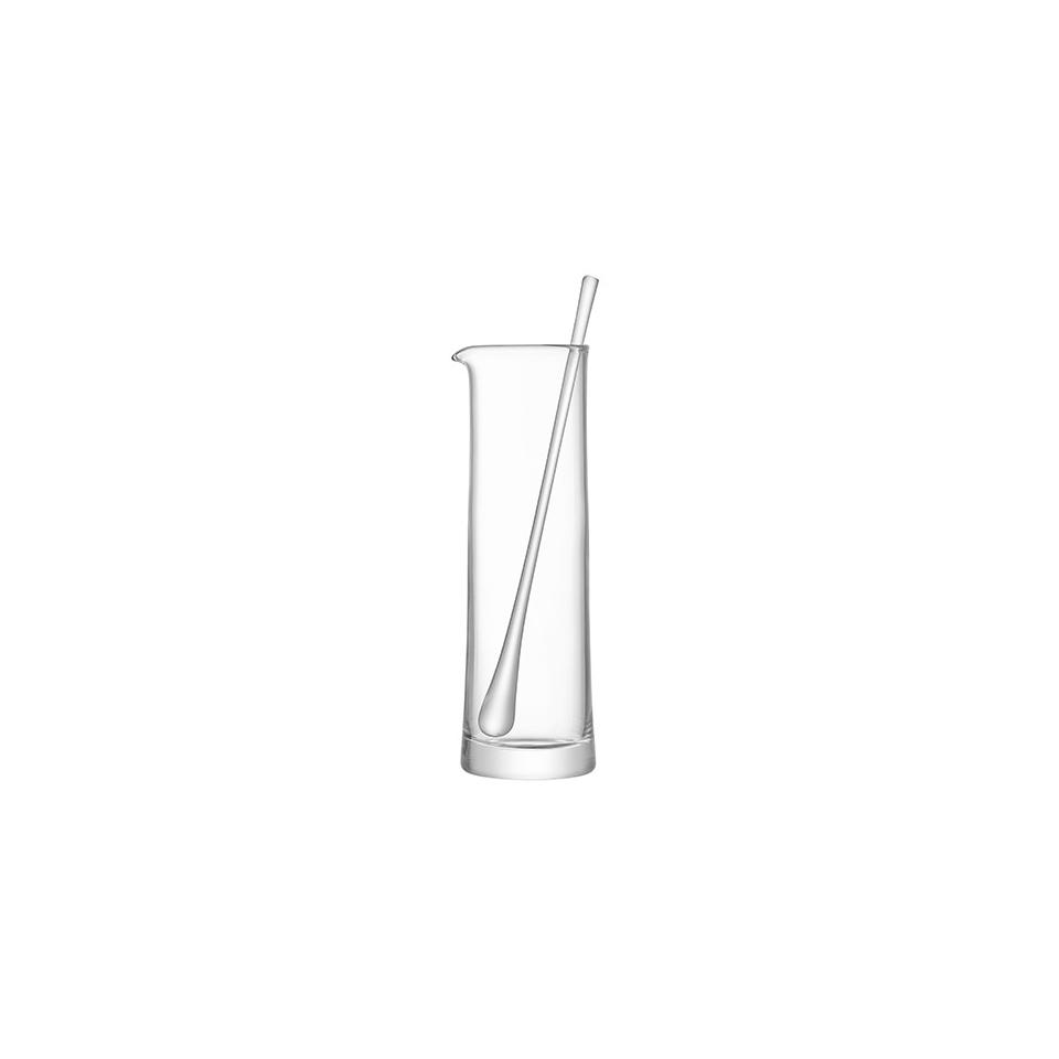 Caraffa Gin con agitatore LSA in vetro lt 1,1