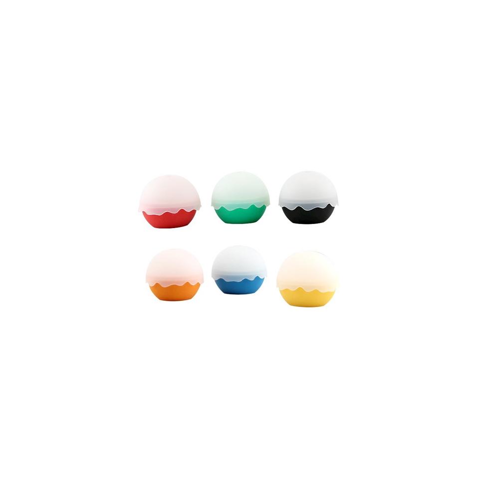 Stampi ghiaccio sfera in silicone colori assortiti cm 5